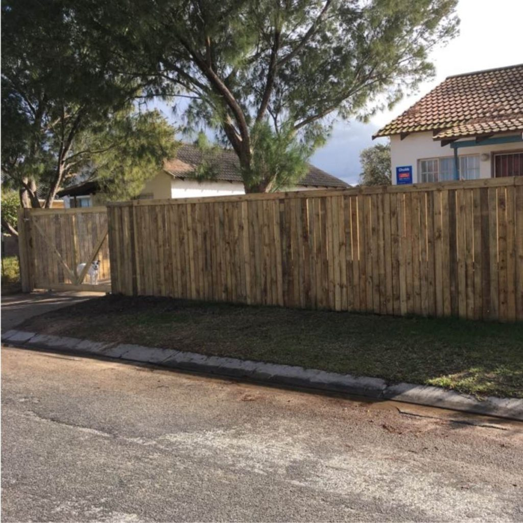 Custom Wooden Fences and Gates
