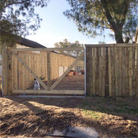 Custom Wooden Fences & Gates